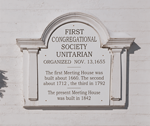 First Parish Founded 1655