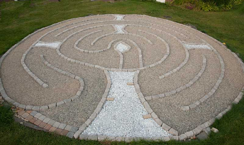 First Parish Chalice Labyrinth