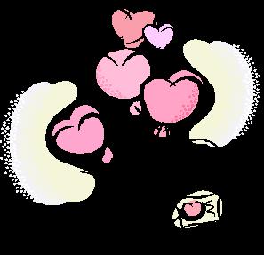 heart ballons