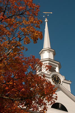 Fall Steeple - Photo Credit Paul Buckley